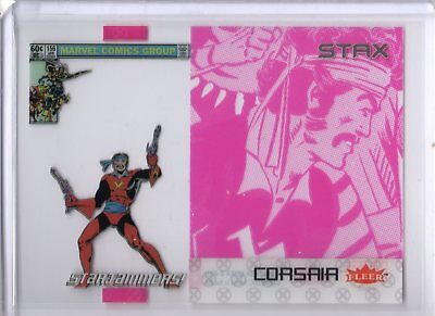 2018 Fleer Ultra X-Men STAX Acetate Insert 21B Middle Layer Corsair UD SKC