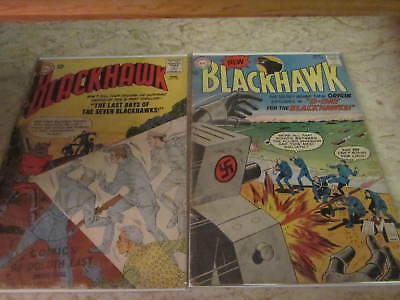 Silver Age Blackhawk Lot (5 Reading Copies)
