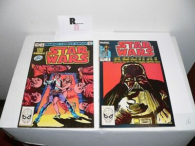 Star Wars Annuals 2 & 3 Comic Lot