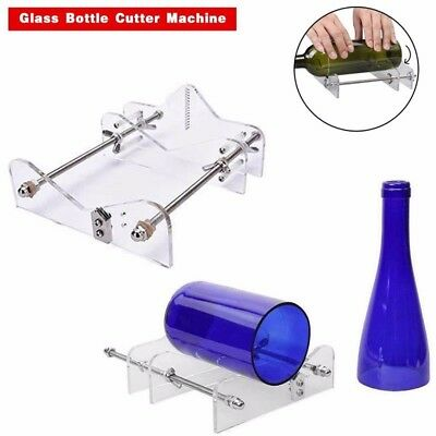 AU Glass Bottles Cutter Wine Beer Bottle Jar Machine DIY Handmade Cutting Tool E