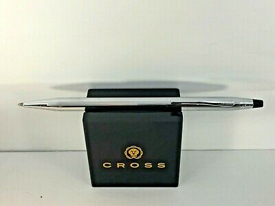 Cross Classic Century Lustrous Chrome Ballpoint Pen Very Good Condition! - Usa