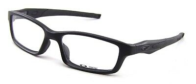 64c99e2c4cb New Oakley Crosslink Pitch OX8027-0553 RX Eye Glasses Black Frames  Sunglasses