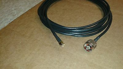 RG-316   SMA  female to  SMA  male coax cable  50 FT US MADE   MIL