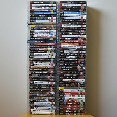 Sony PlayStation 3 PS3 Various Games   Please make your selection