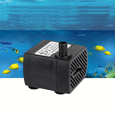 Mini Small Submersible Water Pump Aquarium Pond Fish Tank Fountain Hydroponic