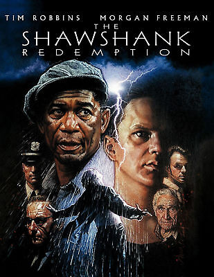 The Shawshank Redemption Movie Art Silk Poster 12x18 24x36 24x43