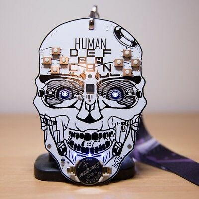 Defcon 24 Human Badge along with the original lanyard. It's pretty cool.