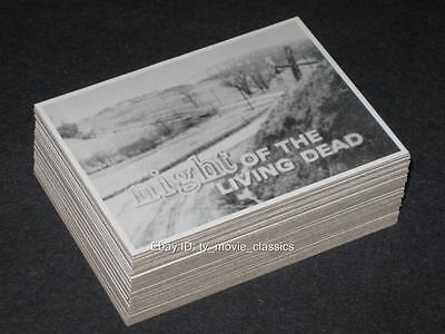NIGHT OF THE LIVING DEAD © 1987 Rosem Complete 50 Horror Card Set +Orig. Wrapper