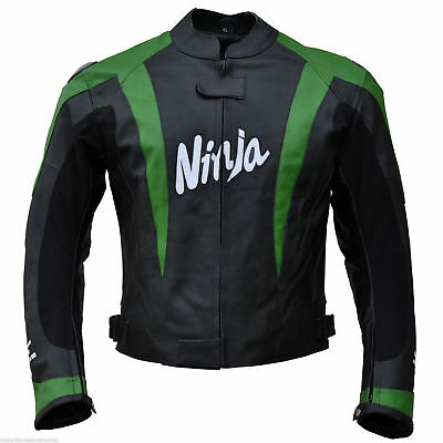 Kawasaki Ninja Racing Leather Jacket (Medium Size Only)