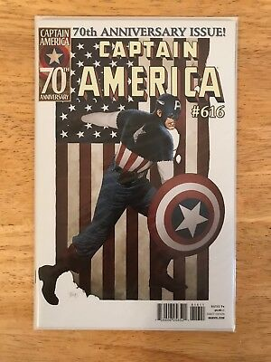 CAPTAIN AMERICA #616 (2011) *Mint* Bagged & Boarded 70th Anniversary