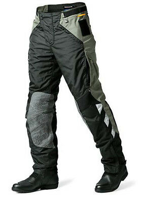Bmw Rallye 3 Textile Trouser Black/Yellow 2015 Motorcycle Touring Off Road
