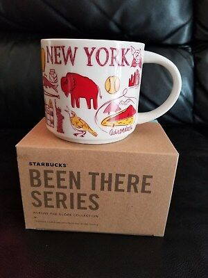 NEW WITH BOX Starbucks New York Been There Series Collection Mug Cup + FREE SHIP