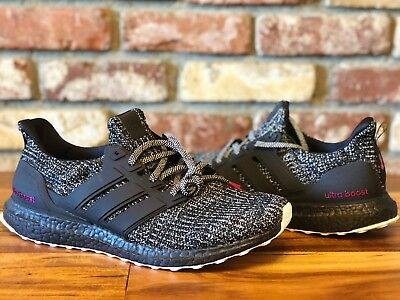 1e57cdfad0320 Adidas Ultra Boost 4.0 Breast Cancer Awareness Black Pink DS Men s Size  11.5-12