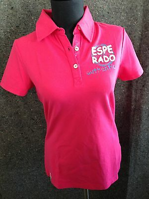 Kurzarm Boston Damen Polo Esperado pink Gr.S