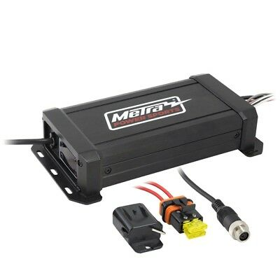 Powersports Metra MPS-AMP100X2 motociclo a 2 canali di 300W Micro Amplifier