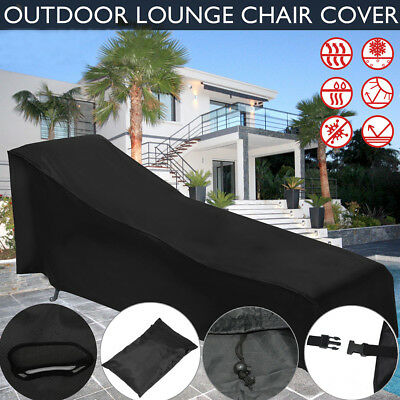 Waterproof Chair Cover For Outdoor Garden Patio Furniture Dirt Rain Protection