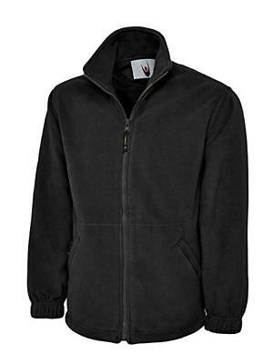 Uneek UC604 Mens Adult Classic Full Zip Micro Fleece Coat Jacket XL (2 Pack)