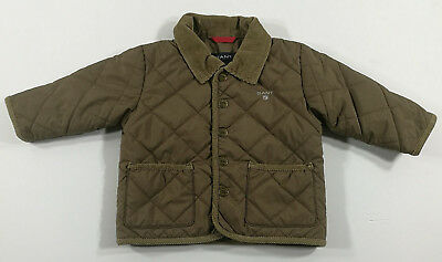 Gant Giacca Bambino Jacket Chaqueta Baby Brown Vintage