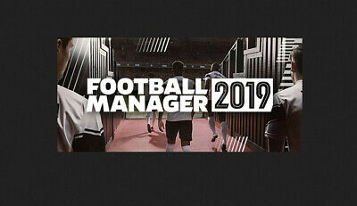 Football Manager 2019 - Pc - Italiano - Steam - Fm 19 Originale