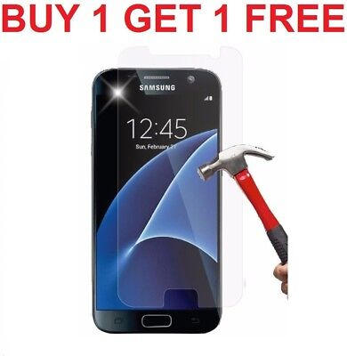 For Samsung Galaxy S7 - 100% Genuine Tempered Glass LCD Screen Protector - Clear