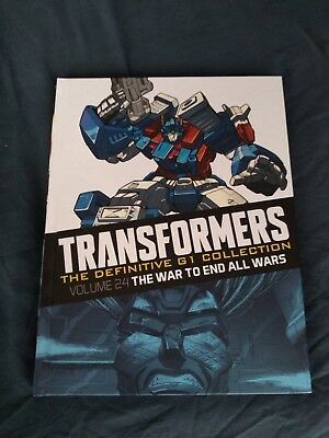 Transformers Definitive G1 Collection issue 46 vol 24 The War To End All Wars