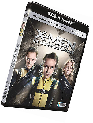 X-Men : Le commencement [4K Ultra HD + Blu-ray + Digital HD]