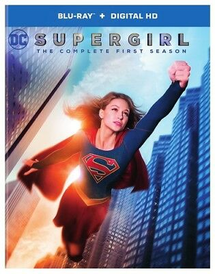 Supergirl: The Complete First Season (Season 1) (3 Disc) BLU-RAY NEW