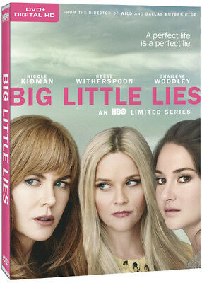 Big Little Lies: Season 1 (First Season) (3 Disc) DVD NEW