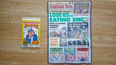 Garbage Pail Kids Poster #11 'National Garbage Pail' (1986) - Topps - New!