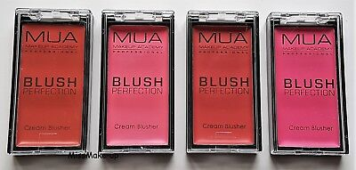 MUA Makeup Academy Blush Perfection Cream Blusher Rose Peach Pink