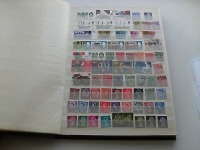 Full Stockbook Collection Mainly Gb Pre-Decimal/decimal Mint And Used Stamps