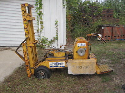 Primemover L812 Tricycle forklift Lull similar Wisconsin engine Ser# 24738