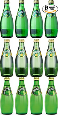 Perrier Sparkling Mineral Water, Variety Pack Special! Natural, Lemon, Lime, of