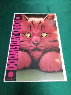 DOOMSDAY CLOCK #8 DCU Variant A GARY FRANK 2018 Ships NOW FAST!!!