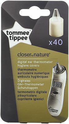 Tommee Tippee Closer to Nature Digital Thermometer refills 40 Hygiene Covers