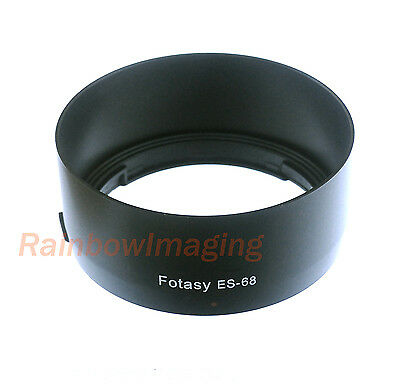 Dedicated Bayonet Mount Lens Hood for CANON EF 50mm F1.8 STM Lens replaces ES-68