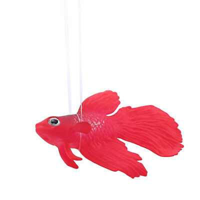 Light color Artificial Silicone Fish Ornament Water Fish Tank Decor Supplies G