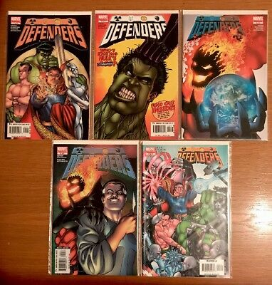 DEFENDERS (2005) #1-5 NM Bagged & Boarded Giffen/DeMatteis/Maguire