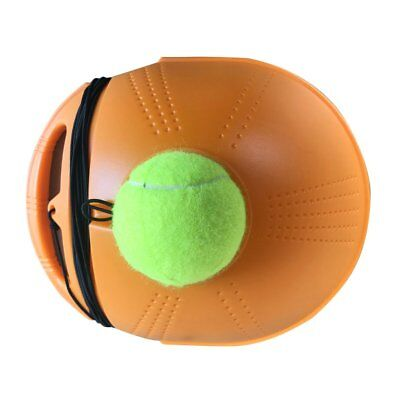 Tennis Ball Back Base Trainer Set with Long Rubber Elastic Rope Band Tennis T3