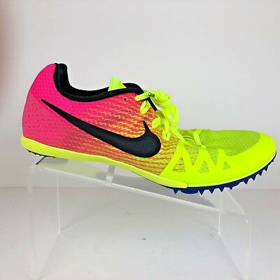 competitive price c7603 f77fe Nike Mens Zoom Rival M Multiuse Track Shoes Size 12 Volt Pink RIO 806555-999