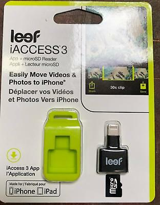 Leef iAccess 3 iOS microSD Card Reader for iPhone and iPad