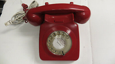 Vintage Retro BT  Dial Up Phone RED