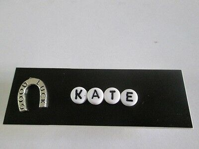Id Name Tag Badge Magnet Or Pin Lucky Medical, Office Nurse Teacher Casino,icu