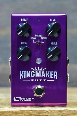 Source Audio One Series Kingmaker Fuzz 3-Distinct Dual Fuzz Engine Effect Pedal