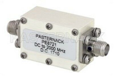 Pasternack PE8721, 5 Section Lowpass Filter, SMA Operating From DC to 2 GHz