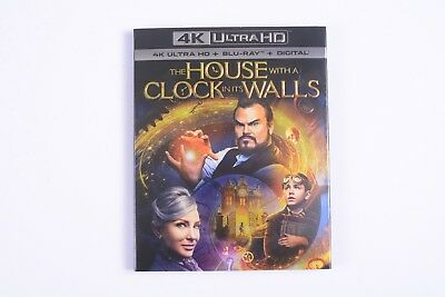 THE HOUSE WITH A CLOCK IN ITS WALLS 4K Ultra HD + Blu-ray + Digital - Brand New