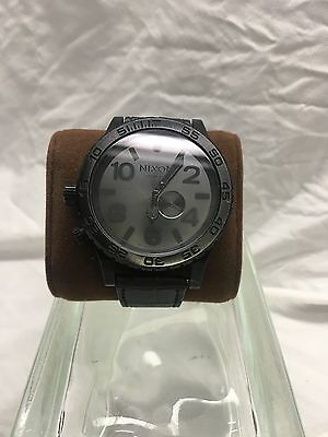 * Nixon * The 51-30 High/Low Tide 300m Watch HUUUUGE Divers Watch Black on Black