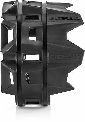New Acerbis Exhaust Silencer Pipe Protector Guard Black Ktm Sx Sxf Exc Excf