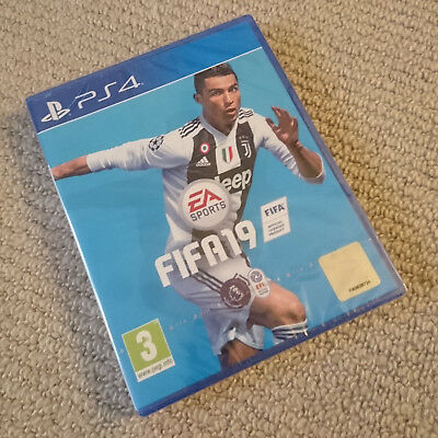 FIFA 19 PS4 - UK Edition - Brand new and sealed - Free P&P