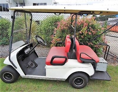GOLF BUGGY / CART 2006 EMC 4 Seat - Good Cond - NEW TROJAN Batteries - Runs well